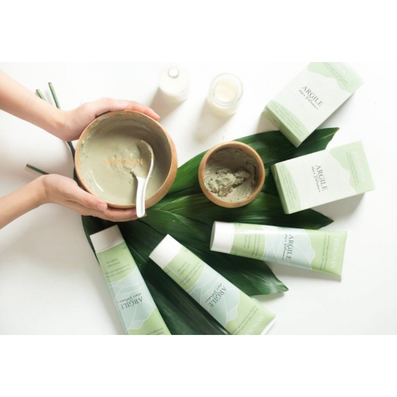 Baume à l'argile verte 100 naturel - Pour masques et cataplasmes - Tube 400g